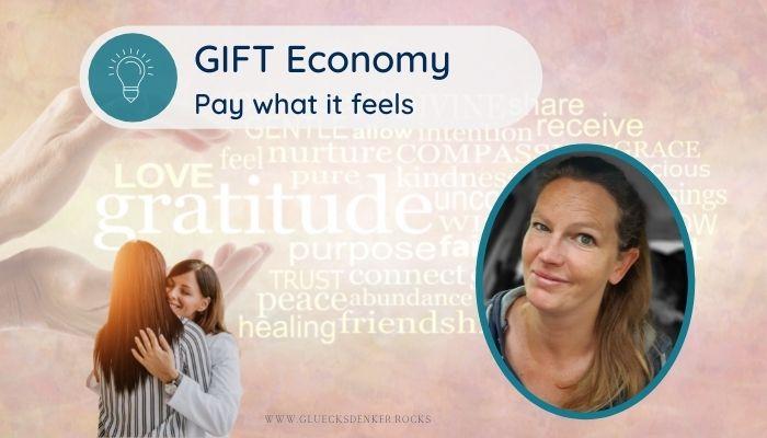 Gift Economy, Elke Daun, Psychologin Bonn, Pay what it feels